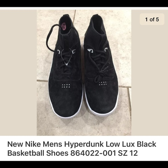 premium selection 9542e 377d8 Nike Hyperdunk Los Luz Black Basketball Shoes